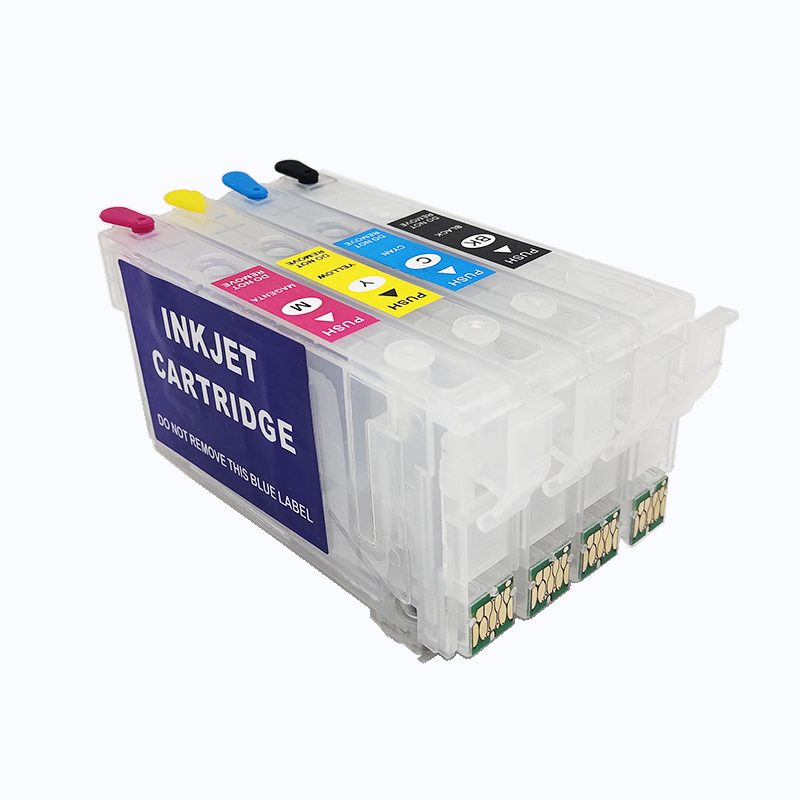 Купить картридж einkshop t802 802xl чернильный картридж без чипа для