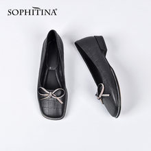 Туфли sophitina женские кожаные элегантные лоферы ручная работа