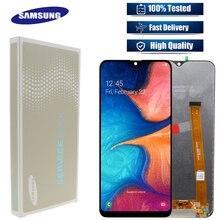 Original สำหรับ Samsung Galaxy A20e A202 A202F A202DS จอแสดงผล LCD Touch Screen Digitizer ASSEMBLY A202 A202F/DS A20e LCD จอแสดงผล