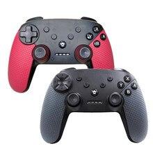 Controlador inalámbrico Gamepad para Switch para controlador de juego Bluetooth NS PRO con función de captura de pantalla de vibración Dual NFC