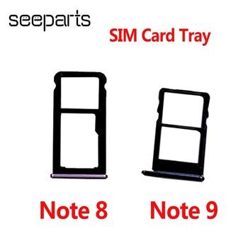Uchwyt karty Sim dla Meizu uwaga 8 tacka na karty uchwyt na Slot gniazdo adaptera do naprawy części dla Meizu uwaga 9 uchwyt karty Sim tanie i dobre opinie seeparts CN (pochodzenie) For Meizu Note 8 9 Sim Card Tray For Meizu Note 8 9 Black Red Blue 1*SIm Card Tray Within 1-2 Days After Payment