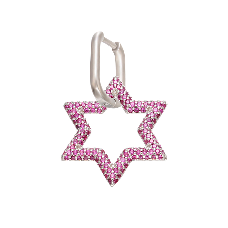 silver pink1pcs