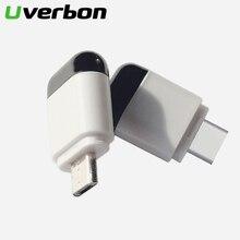 Микро USB type C Интерфейс Smart App Control мобильный телефон пульт дистанционного управления беспроводное инфракрасное устройство адаптер для ТВ приставки
