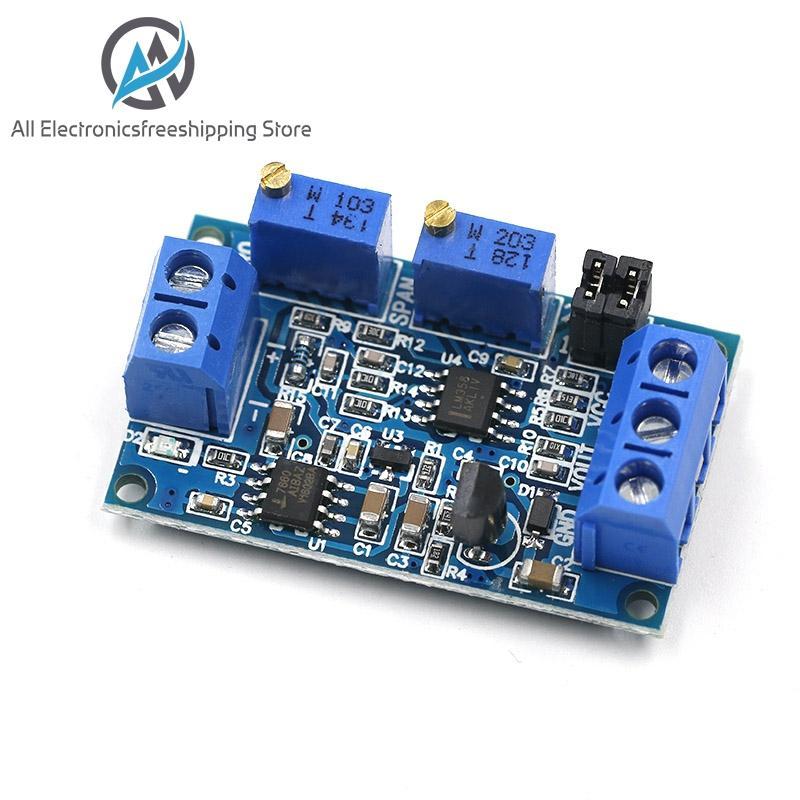 Current To Voltage Module 0 -20mA/4 -20mA To 0- 3.3V/0 -5V/0 -10V Voltage Transmitter Signal Converter Module