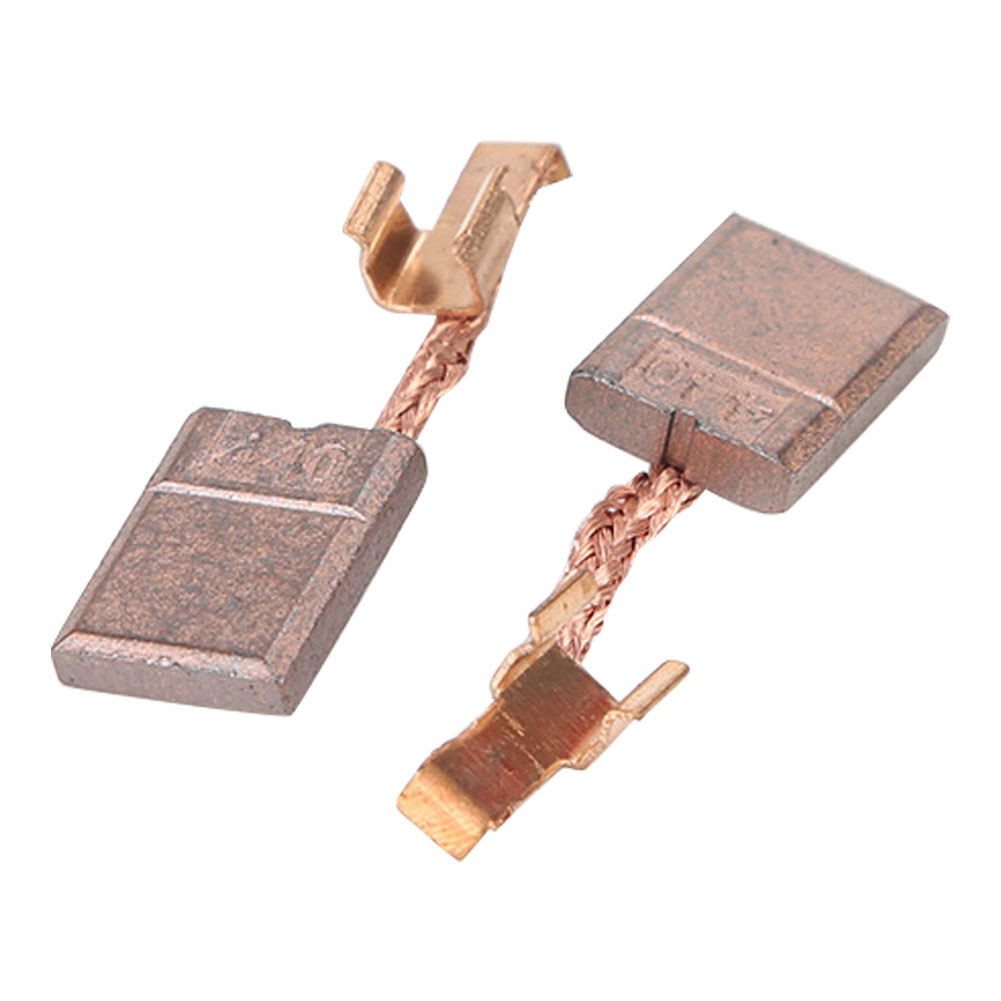 2pcs Welding Industry Power Tools Generator Accessory Electric Motor Workshop Carbon Brush Replacement Metal For Makita CB-440