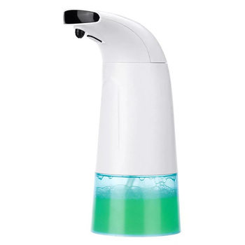 Foam Soap Dispenser 250ml Hand Wash Washer Infrared Sensing Automatic Portable Liquid for Bathroom Kitchen - discount item  50% OFF Bathroom Fixture