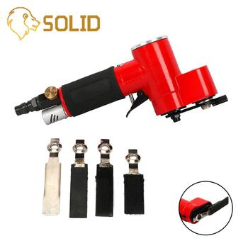 Pneumatic Tools 90 Degree Angle Air Finger Sander Reciprocating Pneumatic Finger Sander for Polishing/Grinding/Waxing 13000RPM