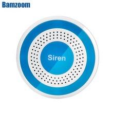 433mhz Wireless Sound und Licht Sirene 100dB Strobe Sirene für PG103 106 107 W2B W3B W4B Home Security WIFI GSM Alarm Panel System