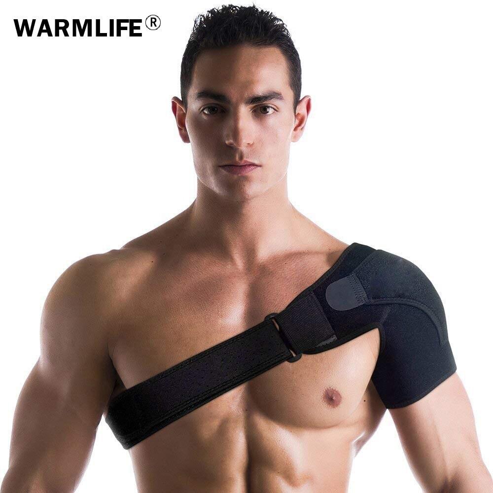 1PCS Back Support Adjustable Bandage Protector Reinforced Functional-training-equipment Single Shoulder Strap