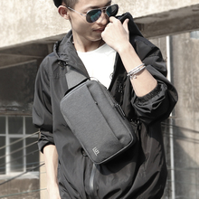 Fyuze multifunctional fashion men's messenger bag earphone h
