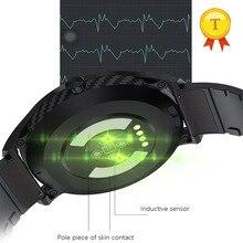 ساعة سباحة متصلة للرجال ، مقاومة للماء ، ecg ، ppg ، معدل ضربات القلب ، ضغط الدم ، الأكسجين ، مستشعر النشاط البدني ، 2019