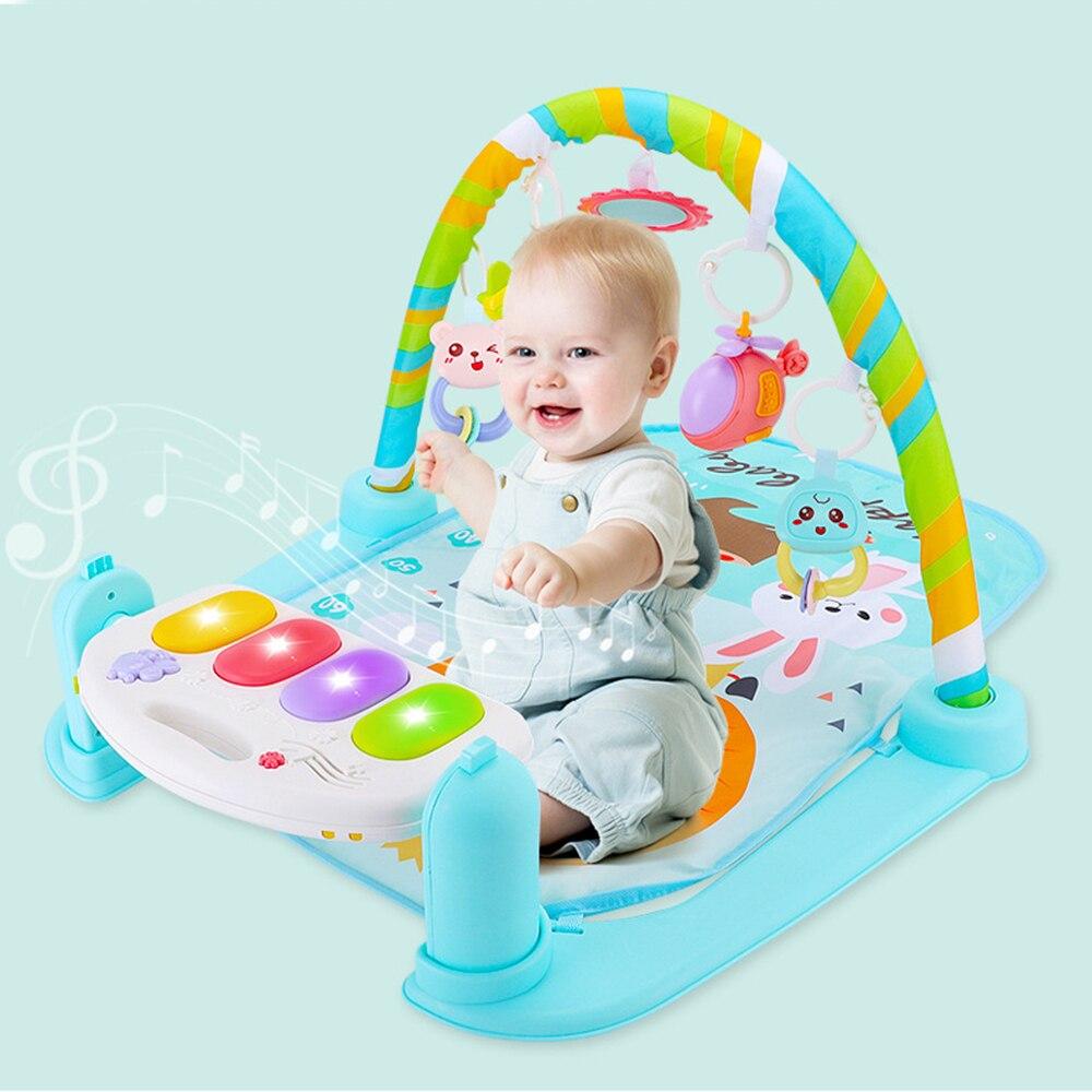 Nouveau tapis enfant Puzzle tapis Piano clavier infantile tapis de jeu bébé support de musique tapis de jeu éducation précoce gymnase rampant tapis de jeu jouet ABS