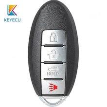 Keyecu CWTWB1U840 Smart Remtoe Auto Sleutelhanger Voor Nissan Versa Sentra Blad 2013 2014 2015 2016 2017 TWB1U840