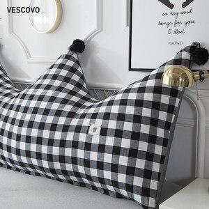 Image 3 - VESCOVO ילדי חדר twin מלכת ארוך כרית רך כרית גדול משענת כרית 180cm