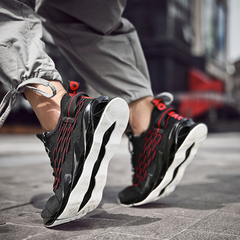 New Outdoor Men Free Running for Men Jogging Walking Sports Shoes High-quality Lace-up Athietic Breathable Blade Sneakers Running Shoes