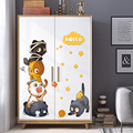 Cartoon nette katze kombination wand aufkleber kühlschrank türen windows Wandbild kinder zimmer schrank dekorationen tapete Aufkleber aufkleber