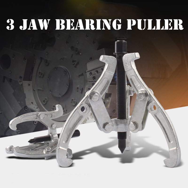 3 Inch 75mm 3 Jaw Bearing Puller Auto Gear Remover Pulling Extractor Tool With Reversible Legs