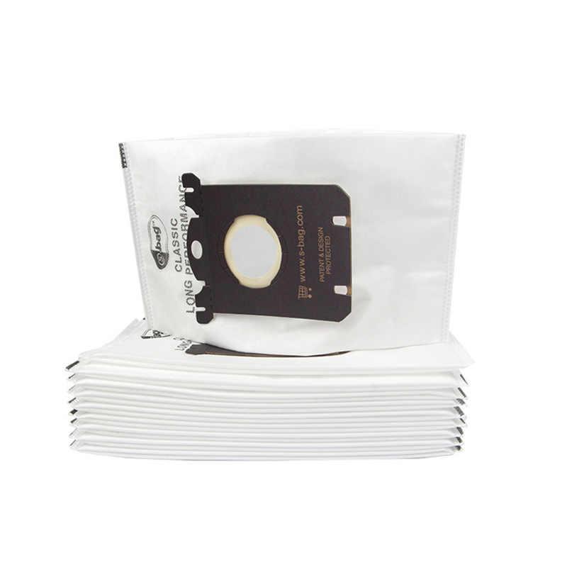 ل فيليبس كيس لجميع الغبار حقيبة ملابس فراغ الاكسسوارات أنظف FC8220 FC8228 FC8382 FC9083 مكنسة كهربائية منزلية تصفية كيس لجميع الغبار s