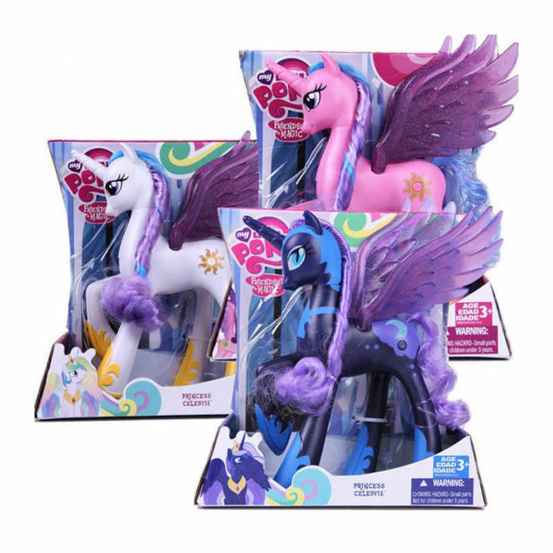 Random 50pcs Pony Mini figures Collection Girls Toy Xmas Gift
