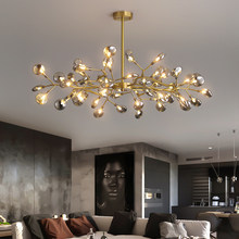Decoração firefly lustre iluminação ramo moderno luminária vintage sala de estar roomm/sala jantar suspensão da lâmpada