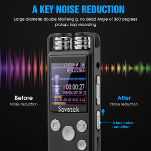Image 2 - Professional Voice Activated Digital Audio Voice Recorder 8GB 16GB 32G USB Pen Non Stop 80hr Recording PCM Support TF Card
