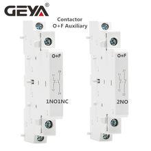 Contattore ausiliario GEYA O + F per contattore ca GYHC househ(2no O 1NO1NC