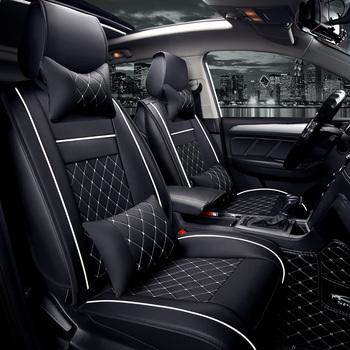 Uniwersalne pokrowce na siedzenia samochodowe do Renault wszystkie modele captur kadjar fluence Captur Laguna Megane Latitude duster tanie i dobre opinie WLMWL Cztery pory roku CN (pochodzenie) 20inch 9inch for Q5 Pokrowce i podpory Przechowywanie i Tidying WODOODPORNE Podstawowa funkcja