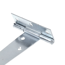 White Zinc T Shape Triangle Hinge Cabinet Shed Wooden Door Gate Hinges Hardware White zinc T-hinge hinge