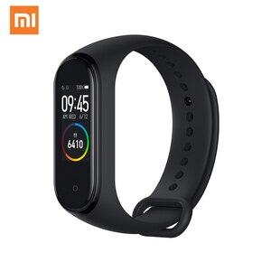 Original Xiaomi Mi Band 4 Smart Bracelet 3 Color AMOLED Screen Smart band Fitness Traker Bluetooth Sport Waterproof Smart Band
