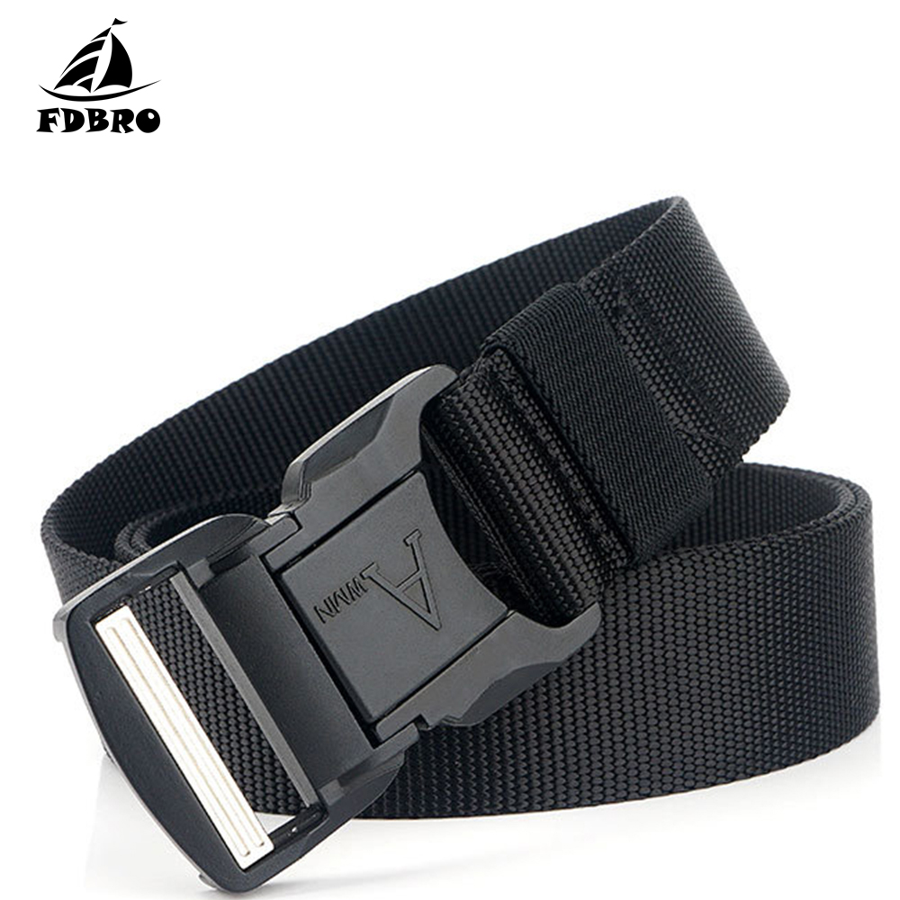 Hb2797aeee24f4abfbae27d6432ef2a9b4 - FDBRO Tactical Belt Military Aluminium Alloy Buckle Nylon Weave Belt 125cm Hiking Camping Trekking Hunting Training Battle Belt