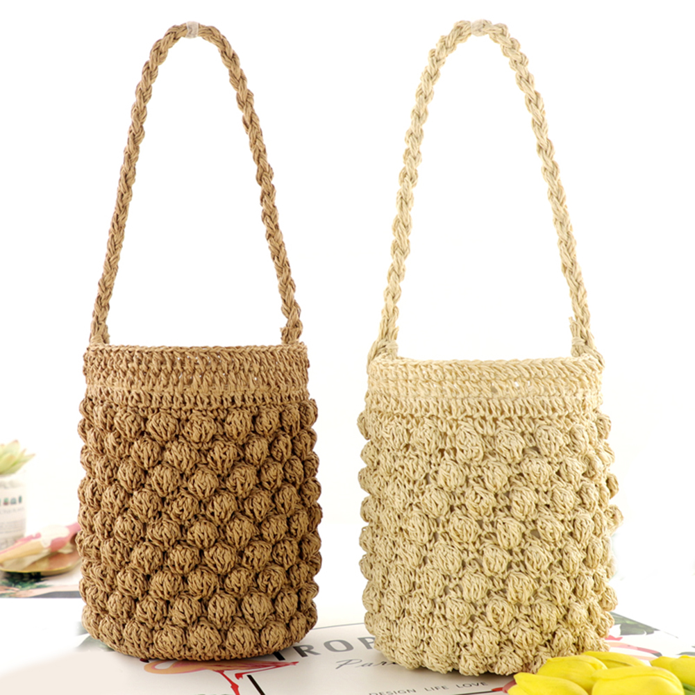 Straw Tote Bag for Summer 2021
