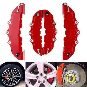 Aluminum alloy 6 pcs Red 3D ENDLESS Style Universal Brake Caliper Cover L+M+S W4