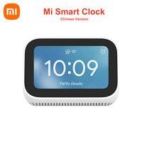 Reloj inteligente Xiaomi Mi versión china, altavoz con pantalla táctil IA, Bluetooth 5,0, pantalla Digital, despertador, conexión WiFi