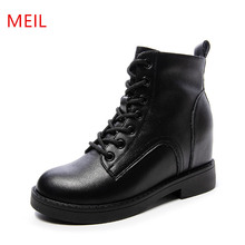 Autumn Winter Shoes Women Genue Leather Ankle Boots Women We