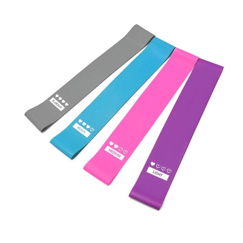 Yoga Resistance Bands Emulsion Training Pull Rope For Sports Pilates Expander Non-Slip Yoga Belt Fitness Gym Workout Equipment