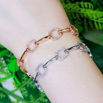 Square Chain Chic Designer Bracelet