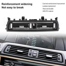 1Pcs Front Center Air Outlet Vent Dash Panel Grille Cover Voor Bmw 5 Serie F10 F18 523 525 535 interieur Mouldings Panel Grille(China)