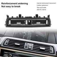 1Pcs Front Center Air Outlet Vent Dash Panel Grille Cover voor BMW 5 Serie F10 F18 523 525 535 interieur Mouldings Panel Grille