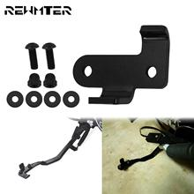 Motorcycle Black Stand Kickstand Extension Kit For Harley Sportster 07 Up XR 08 13 Forty Eight XL1200X XL1200N  Iron 883 XL883N