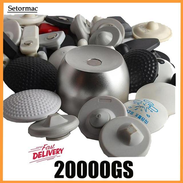 Manyetik Detacher 20000GS evrensel güvenlik etiketi kaldırmak için Golf etiketi mürekkep kilidi EAS sistemi Systema Eas