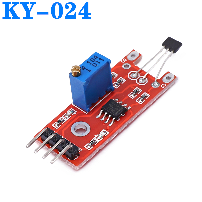 New Linear Magnetic Hall Sensor Ky-024 Applicable A Accessories High Sensitivity KY024 KY 024