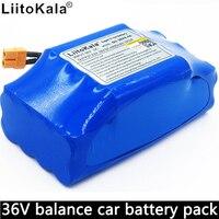 Bateria de lítio 36v 4.4ah bateria de lítio 4400 mah carro de equilíbrio li-ion embutido bms liitokala 36v bateria 10s2p