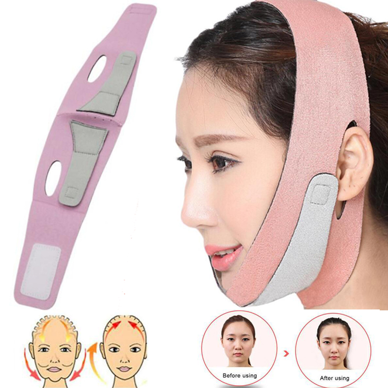 Face Lift Up Belt Thin Face Mask Slimming Facial Thin Masseter Double Chin Skin Care Thin Face Shaper Bandage Belt