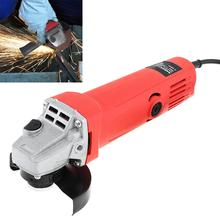 Angle Grinder 220V 700W/750W Electric Angle Grinder with Protective Cover Support Polishing Disc for Rust Removal
