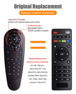 Image 2 - G30 Voice Remote Control 2.4G Wireless Air Mouse 33 keys IR Learning Gyro Sensing Smart Remote For H96MAX X96MAX Smart TV BOX