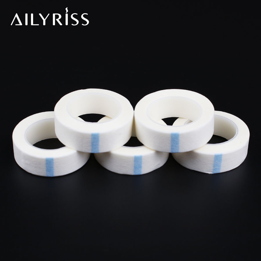 Eyelash Tape Eyelashes Extension Non-woven Tape 5 Rolls False Lashes Grafting Patches Make Up Tools Under Eye Pads Lashes