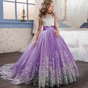Image 4 - สาวเจ้าหญิงชุด4 TO14ปีสาวชุดแต่งงานสำหรับสาววันเกิดPartyเสื้อผ้าเด็กVestido