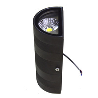 Factory Sale Black Modern Waterproof Led Wall Light For Land Scape Outdoor Wall Sconce Lamp