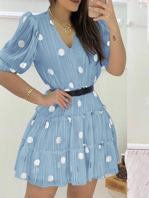 Фото 2020 женское модное элегантное повседневное мини платье с v цена