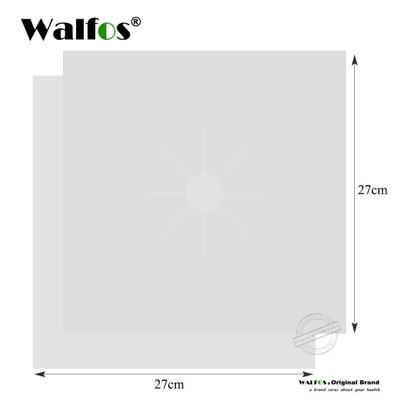 WALFOS 2pcs Silver